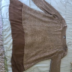 Sweater Shirt by Venus Plus Size New!